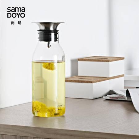 尚明耐热玻璃透明冷水壶凉水壶瓶果汁壶水壶时尚冰饮壶JR