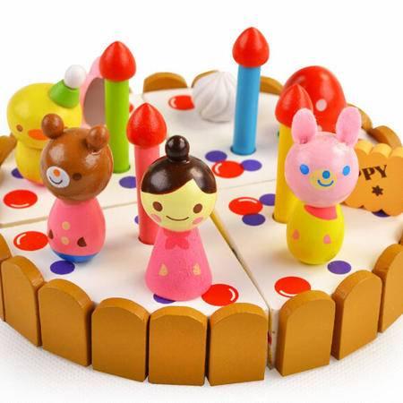 迷你蛋RB34木制过家家切切看玩具仿真巧克力迷你圣诞生日礼物MGWJ