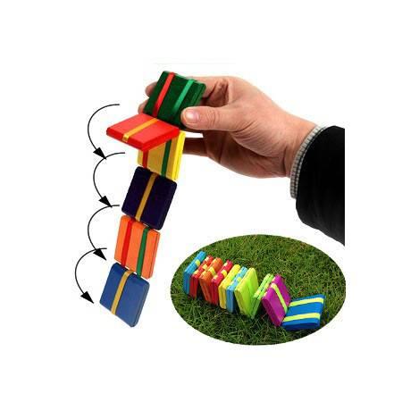 经典木制20片多彩翻板游戏MG118溜溜板玩具手眼协调MGWJ