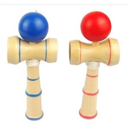 小号技巧球剑玉剑球RB06木制儿童玩具趣味成人老年人玩具MGWJ