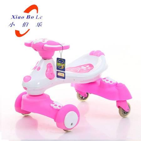 小伯乐新款儿童车扭扭车四轮适合1-3岁孩子XBL