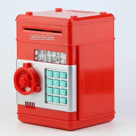 创意礼品玩具仿真ATM密码箱存钱罐迷你保险箱造型储蓄罐TFWJ
