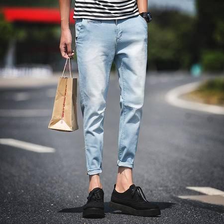 新款修身牛仔裤 街拍 197-A306-P55 TWM