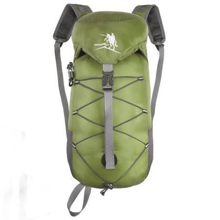 新品户外旅行折叠收纳包30L防水尼龙双肩背包FK0719JFBB