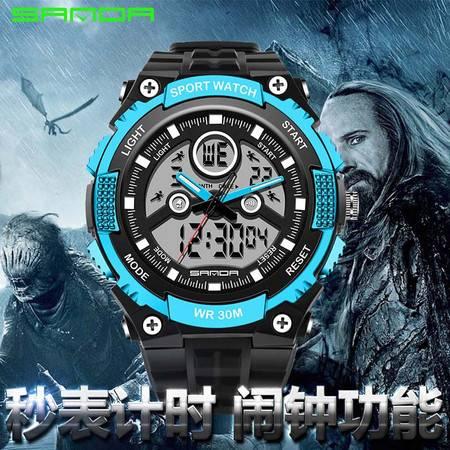 表热卖多功能双显冷光电子表防水旅游潜水户外男运动腕表709 SDSB