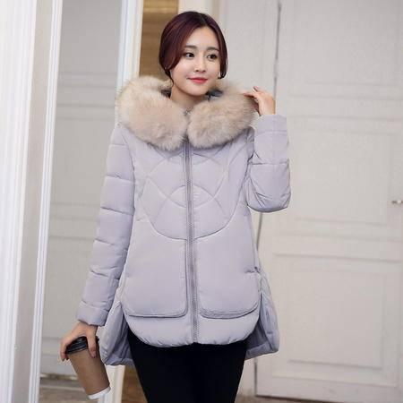 6629冬季新款修身显瘦棉衣加厚羽绒服女短款棉服学生外NXNZ3