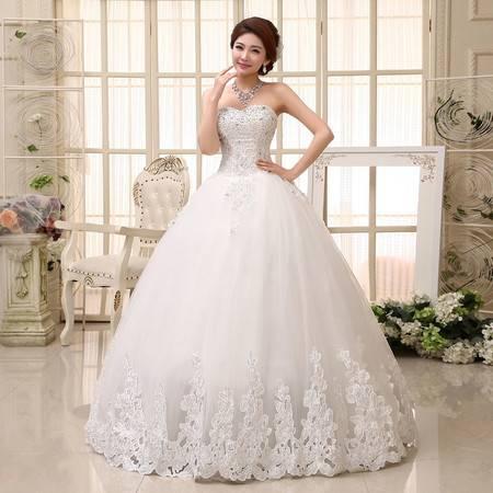 【预售】新娘婚纱礼服   甜美优雅公主齐地婚纱HS531XSFZ