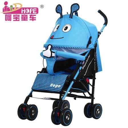 婴儿推车轻便折叠伞车四轮推车童车婴儿车可做可躺HBTC