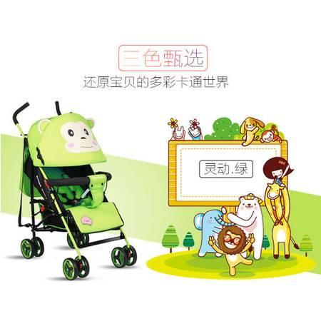 婴儿车轻便折叠童车可躺可坐婴儿推车超轻便携HBTC