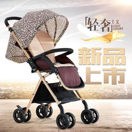荟智可坐可躺轻便婴儿推车 高景观儿童手推车凌度HC300HBTC