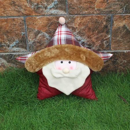 圣诞公仔抱枕圣诞礼品圣诞用品橱窗摆件圣诞雪人圣诞老人