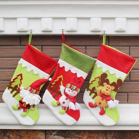 圣诞装饰品 圣诞节日用品圣诞挂件圣诞节礼品圣诞袜子 圣诞用品