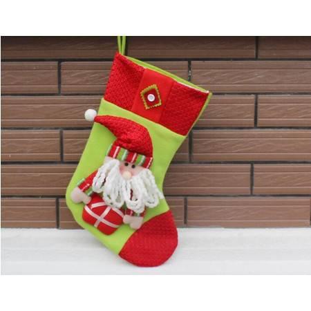 羊毛圣诞袜 高档羊毛圣诞袜 圣诞工艺圣诞袜 出口羊毛圣诞袜