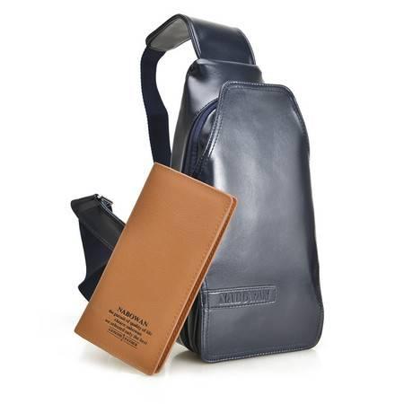 【预售】韩版胸包时尚男士胸包腰包优质休闲单肩包男3231NBW【2】