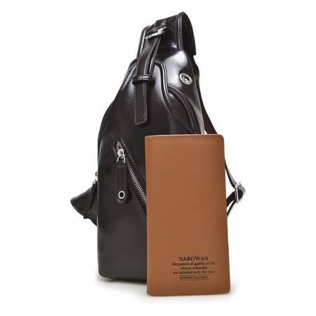 【预售】韩版胸包 时尚男士 胸包腰包优质休闲单肩包男1518NBW【2】