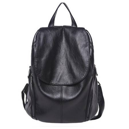 潮旅行双肩包女包休闲旅游背包韩版简约时尚书包A169593 SD