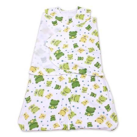 新款纯棉婴儿睡袋薄款花色襁褓全棉抱被新生儿抱毯YXL