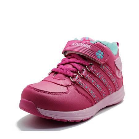 卡丁童鞋 女童鞋 新款加棉 保暖运动鞋 休闲板鞋 8332394