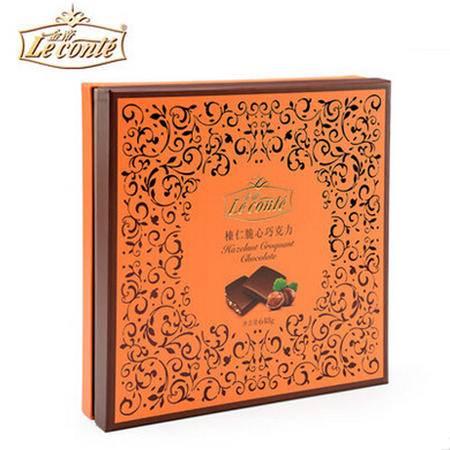 【促销中 金帝】巧克力 美滋滋榛仁脆心巧克力648g 礼盒特惠装 节日生日礼物
