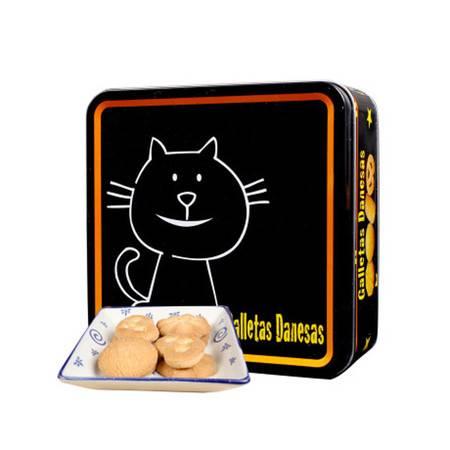 【陕西邮储活动 枫叶】 杂锦奶油饼干糕点113g特惠装 铁盒曲奇饼干办公室休闲零食