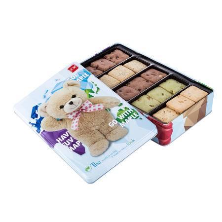 【促销中 枫叶】 小熊果仁奶酥(曲奇饼干)580g*1休闲零食 送礼佳品 小熊曲奇