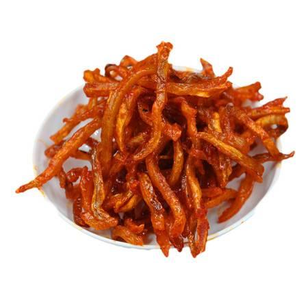 珍值海味零食烤鳗鱼丝90克/袋特惠广东珠海特产澳门风味休闲零食小吃