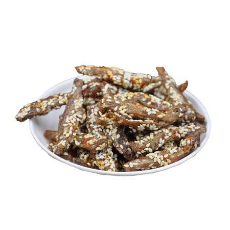 【促销中】珍值海味零食辣味鱼仔80克/袋特惠广东珠海特产澳门风味休闲零食小吃