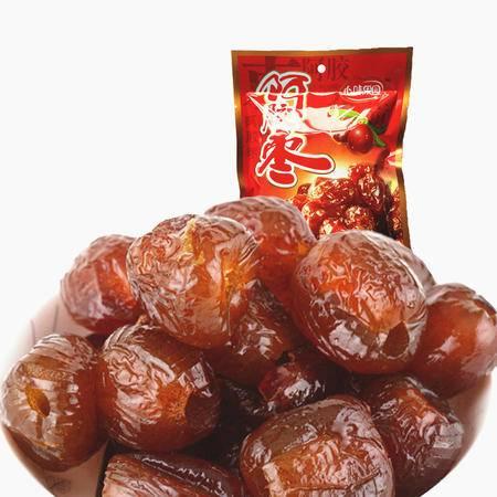 【促销中 心味果园】蜜饯 阿胶蜜枣200gX1袋坚果干蜜饯果脯系列休闲零食品