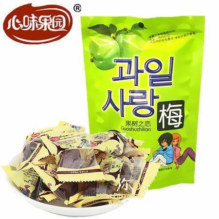 【心味果园】车厘子李果120gx1袋每粒独粒袋装广式蜜饯果脯系列休闲食品零食