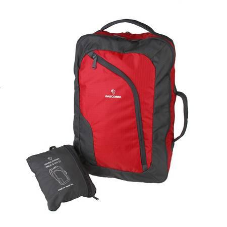 MASCOMMA 双肩背包手拎包三用折叠收纳包系列 BS00403/RGY