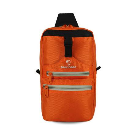 MASCOMMA 休闲单肩斜挎包胸包平板包 橙色 BS00904/ORG