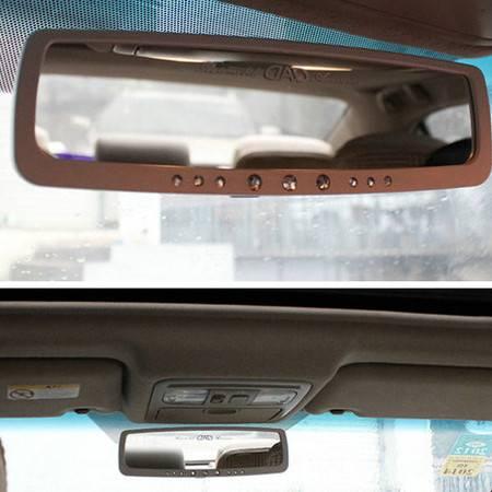卡饰得(CARCHAD) 汽车室内镜 DAD 时尚带钻 高品质后视镜 大视野镜