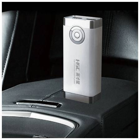英才星 YC-303 车载万能移动电源 双USB充电宝 6600mah