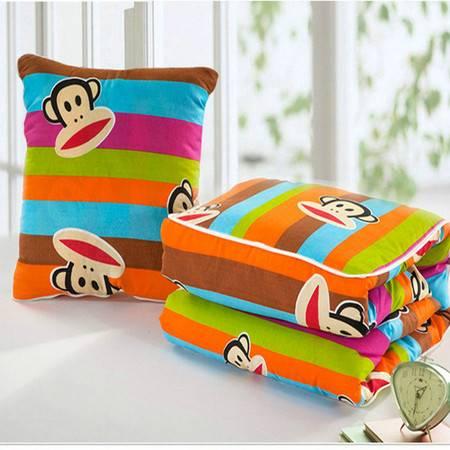 卡饰得(CARCHAD) 抱枕 空调被 哆啦A梦多功能可折叠抱枕被 家用车载两用 机器猫靠垫被 包邮