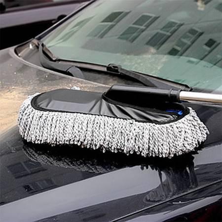 卡饰得(CARCHAD) EVA钢柄蜡刷 加厚加密车用蜡拖 第六代除尘刷 蜡掸