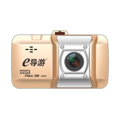 E导游 悬挂式行车记录仪 隐藏式高清记录仪 1080P 3寸显示屏