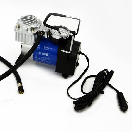 CARCHAD 金属充气泵 多功能打气泵 带气压表  12V 160W 150PS