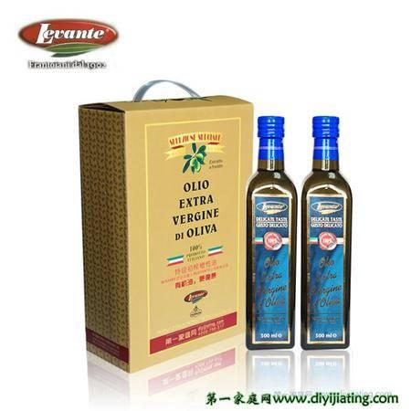 利云达特级初榨橄榄油意大利原装进口礼盒装(两支装)