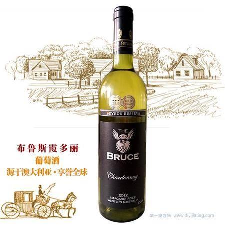 布鲁斯霞多丽干白葡萄酒