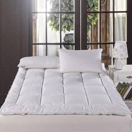 五星酒店单双人羽绒床垫 加厚透气褥子榻榻米 床垫 180*200