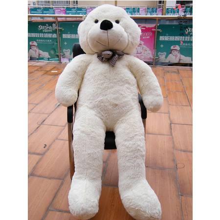 林嘉欣熊泰迪熊毛绒玩具熊公仔160CM丝带款