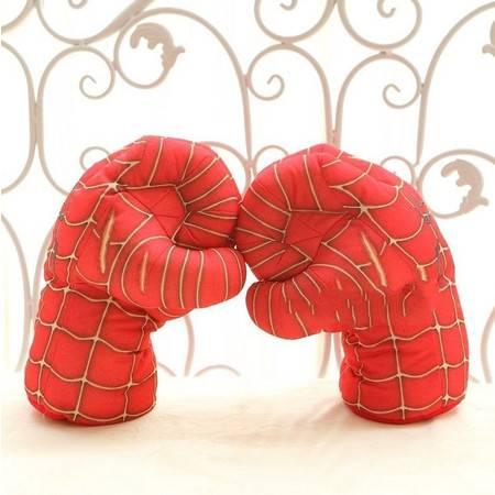 毛绒拳击手套送给孩子的好礼物28CM