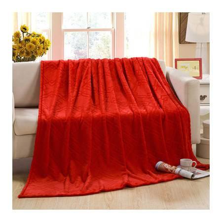 2014新品高档舒适加厚柔软金貂绒毛毯盖毯冬用床单毯120*200CM