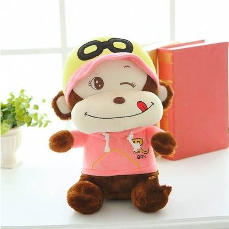 猴年吉祥物 戴眼镜猴子毛绒玩具公仔2号80CM