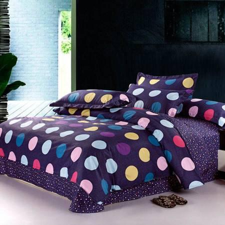 100%纯棉斜纹单人被套全棉被套床上用品200*230CM