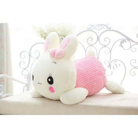 妮可兔 可爱趴姿兔兔3号35CM