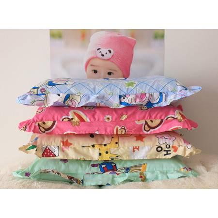 全棉韩版花边卡通儿童枕纯棉护颈枕可拆洗小孩午休枕头含芯
