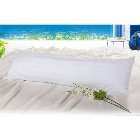 宽缎全棉双人枕芯长枕芯保健枕高弹力枕头1.5M