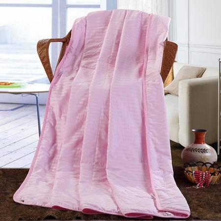 100%纯棉缎条蚕丝被 蚕丝夏被春秋被 蚕丝被被芯150*200CM