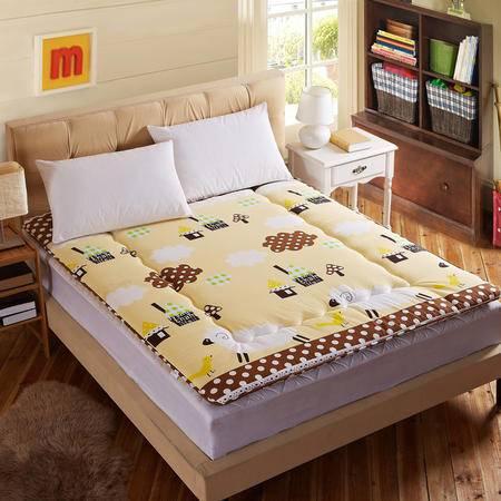 榻榻米床垫压线款批发床褥床垫学生垫子100*200CM